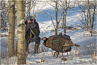Wild Turkey Shoot Alberta