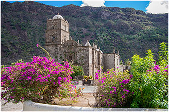 San Javier Mission Baja California Mexico by Dr. Wayne Lynch ©